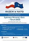 Koncert w Toruniu 18 września 2015
