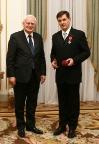 Krzyż Kawalerski Orderu Odrodzenia Polski dla Prezesa Jacka Łepeckiego 23 grudnia 2010