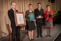 "Medal ""Pro Masovia"" dla Prezesa Jacka Łepeckiego"