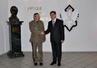 Spotkanie z Rektorem-Komendantem WAT - Warszawa 12.06.2012